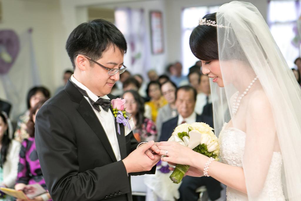 台北君悅酒店 天母禮拜堂證婚 晚宴083
