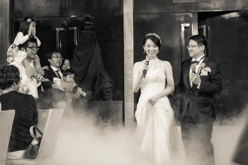 台北君悅酒店 天母禮拜堂證婚 晚宴124