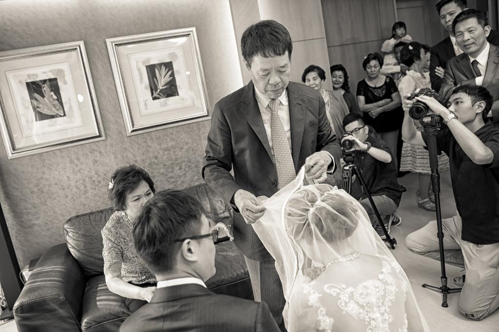 台北晶華酒店 結婚午宴037