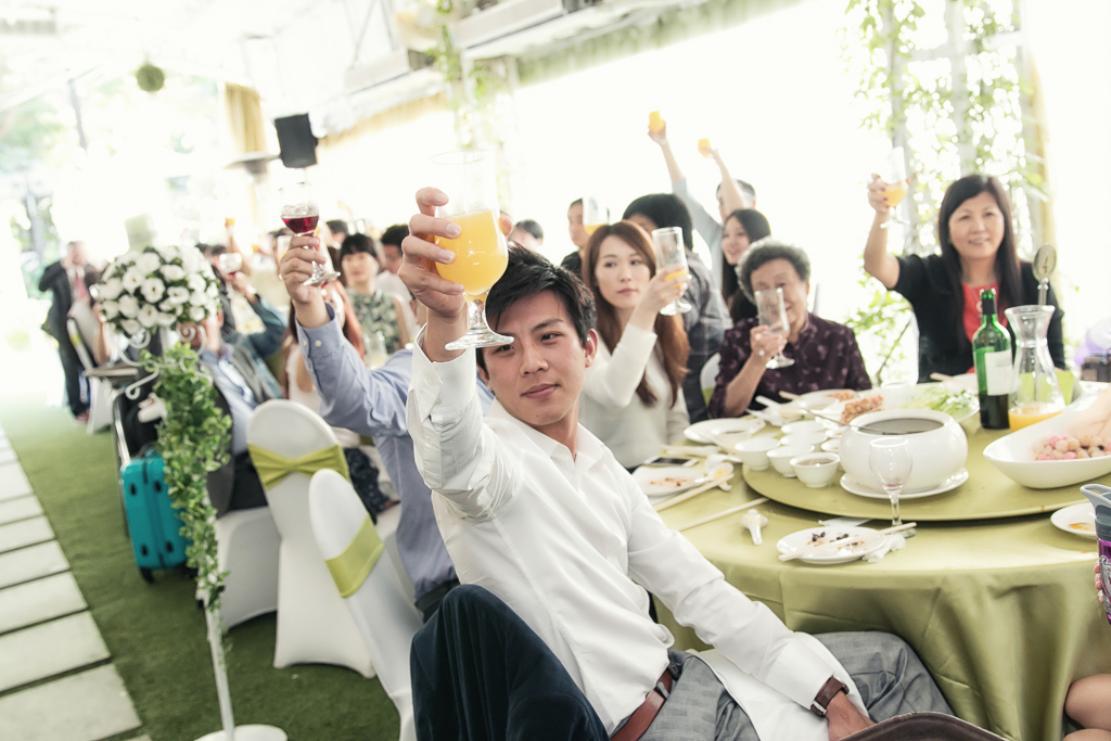台北青青食尚會館 定結證婚午宴120
